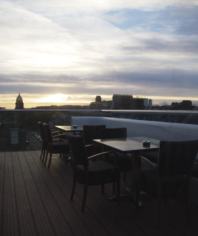 Rooftop Terrace at Chaophraya Edinburgh