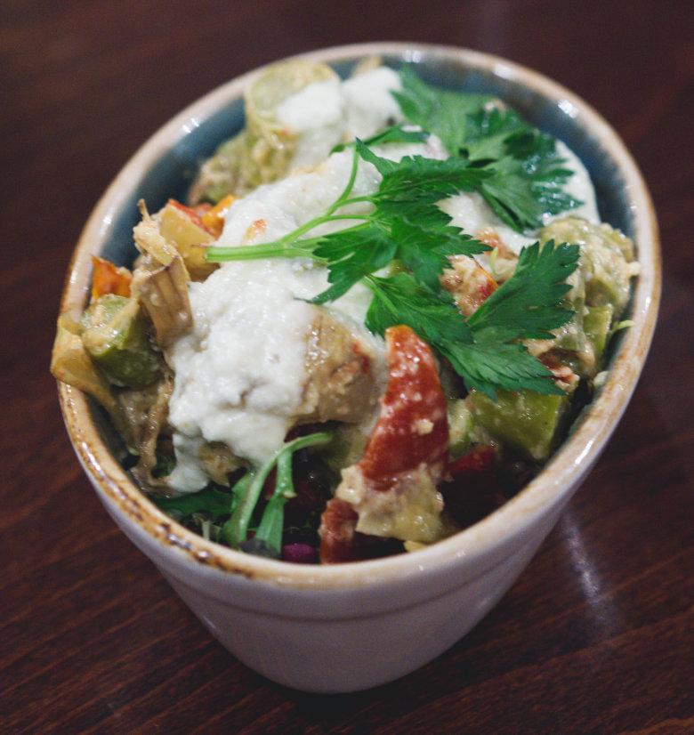 Vegan ensalada Andaluza at Cafe Andaluz Edinburgh