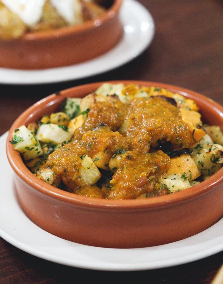 Vegan ensalada Marroquí at Cafe Andaluz Edinburgh