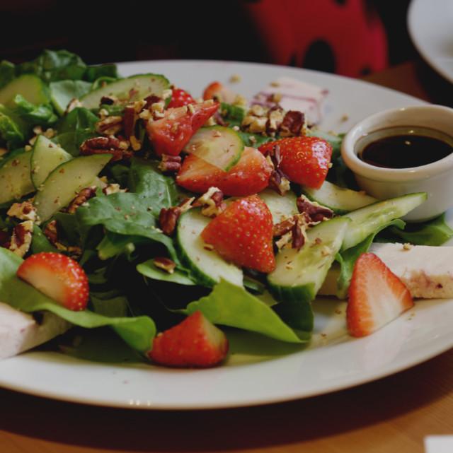 Sweet and savoury salad at Holy Cow Edinburgh