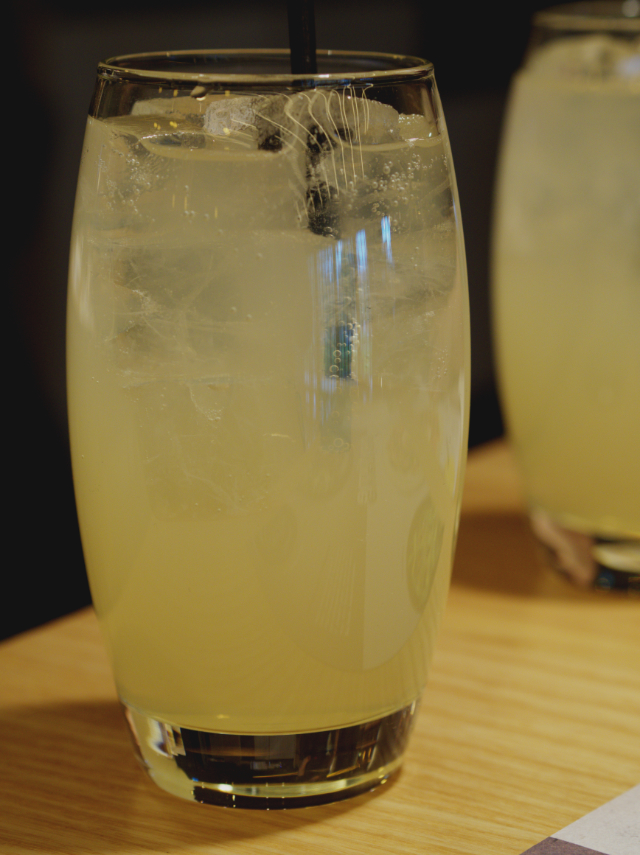 Ginger beer at Wagamama Edinburgh