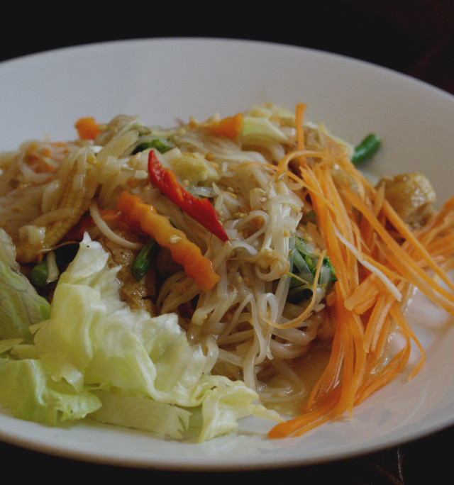 Pad Thai at Phuket Pavillion Edinburgh