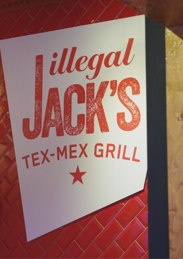 Illegal Jacks sign, Edinburgh