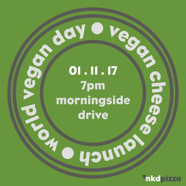 World Vegan Day at NKD Pizza