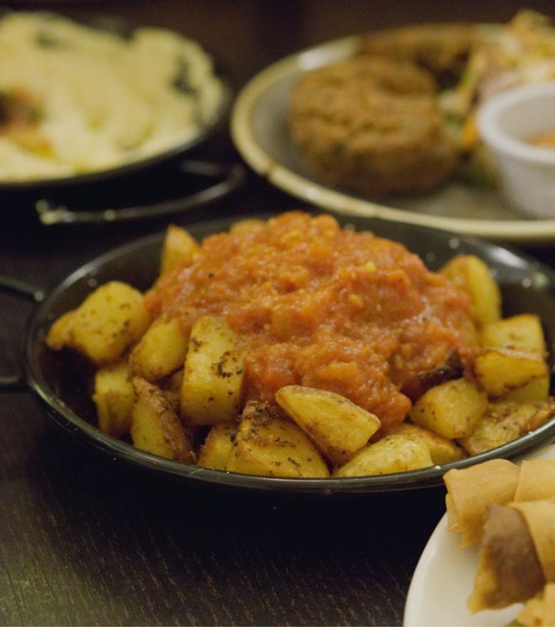 Vegan Patates at Yeni Meze Bar Edinburgh