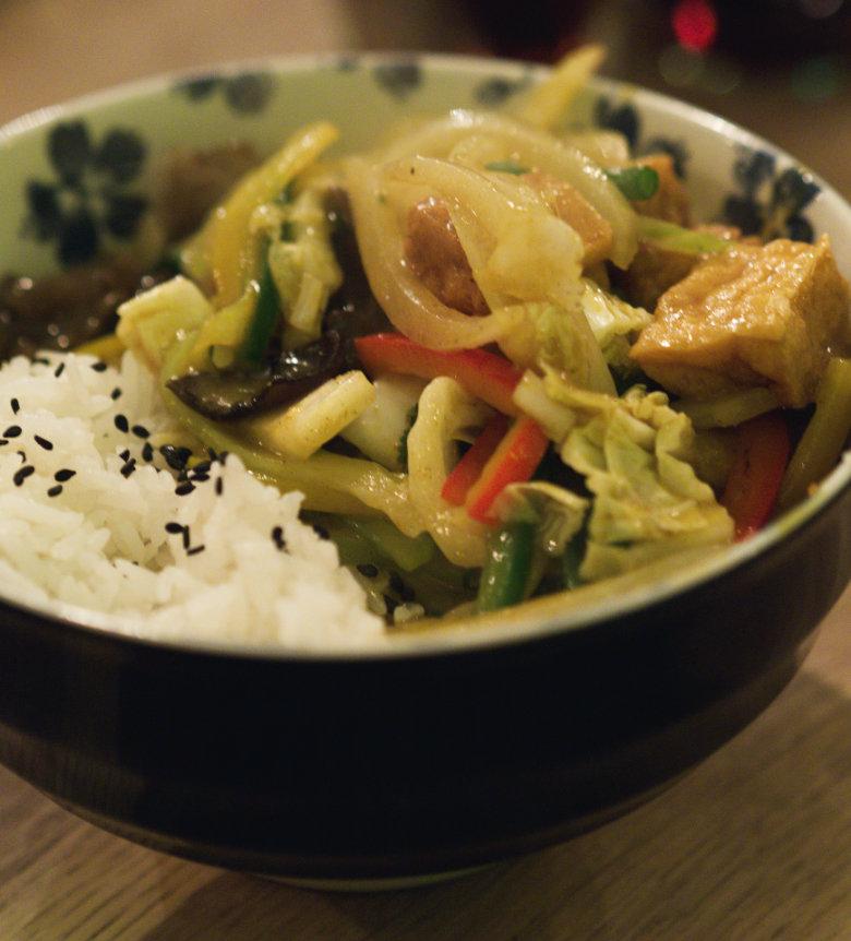 Malay Veggie Curry