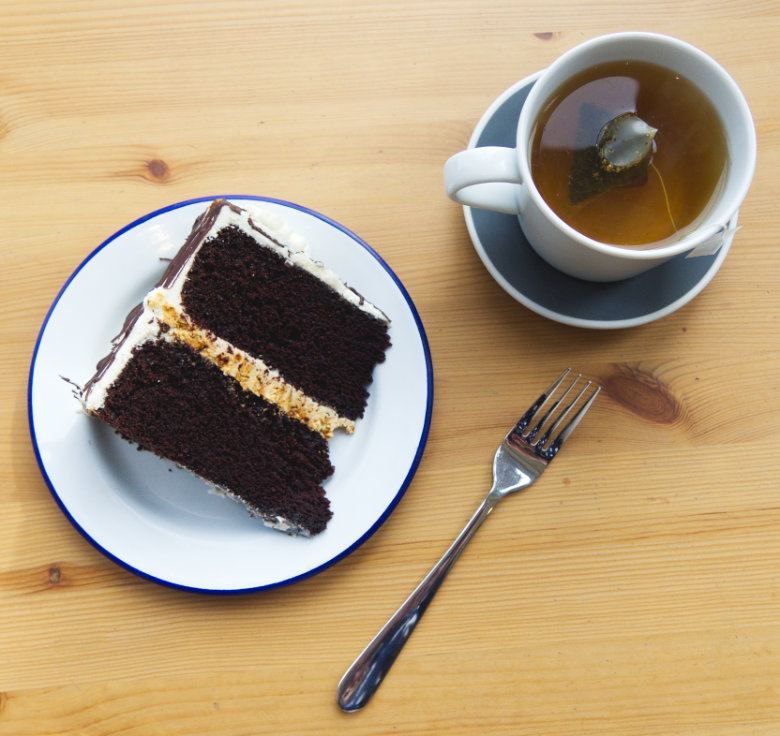 Vegan Tea and Cake at Café W Edinburgh