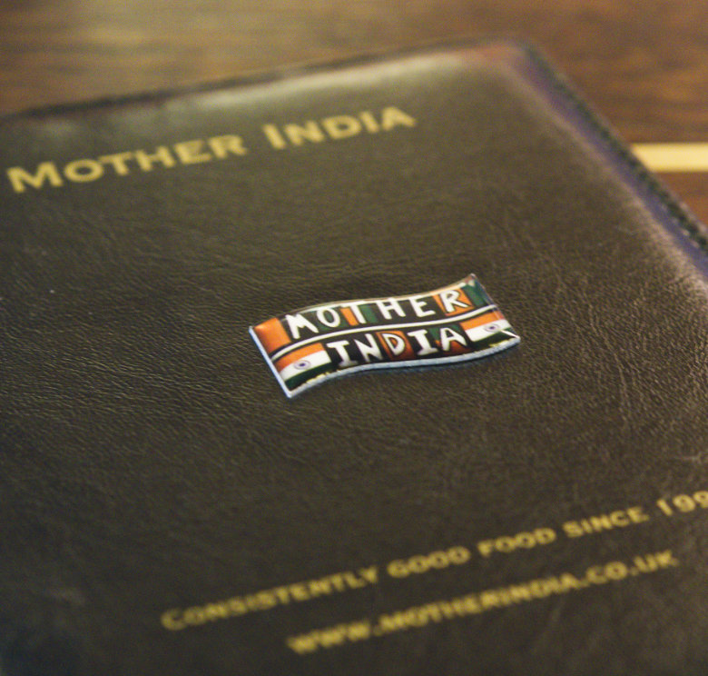 Mother India badge