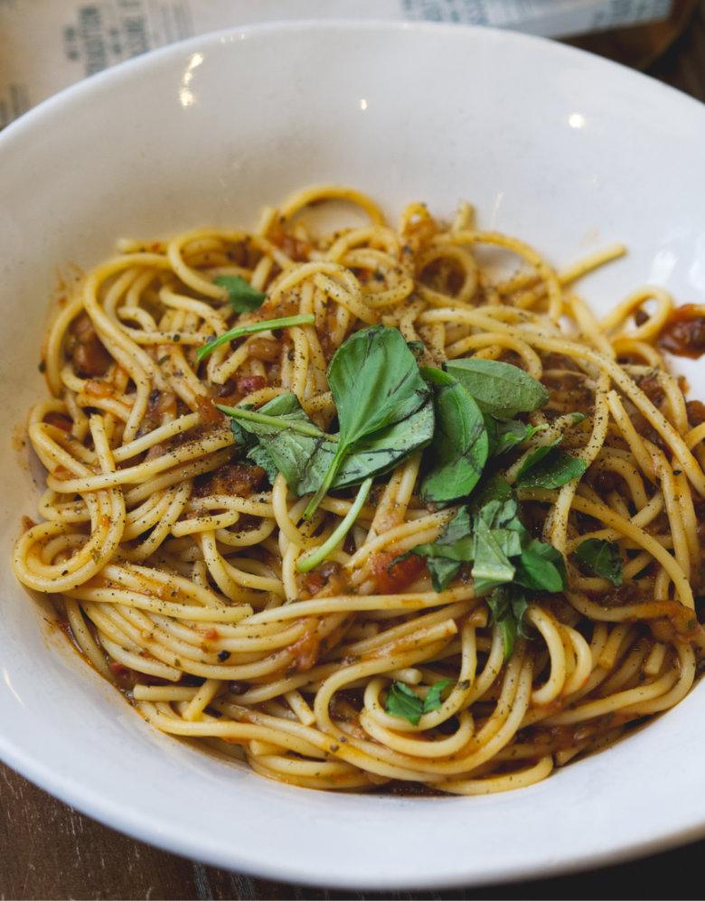 Vegan Lenticchie at Bella Italia Edinburgh