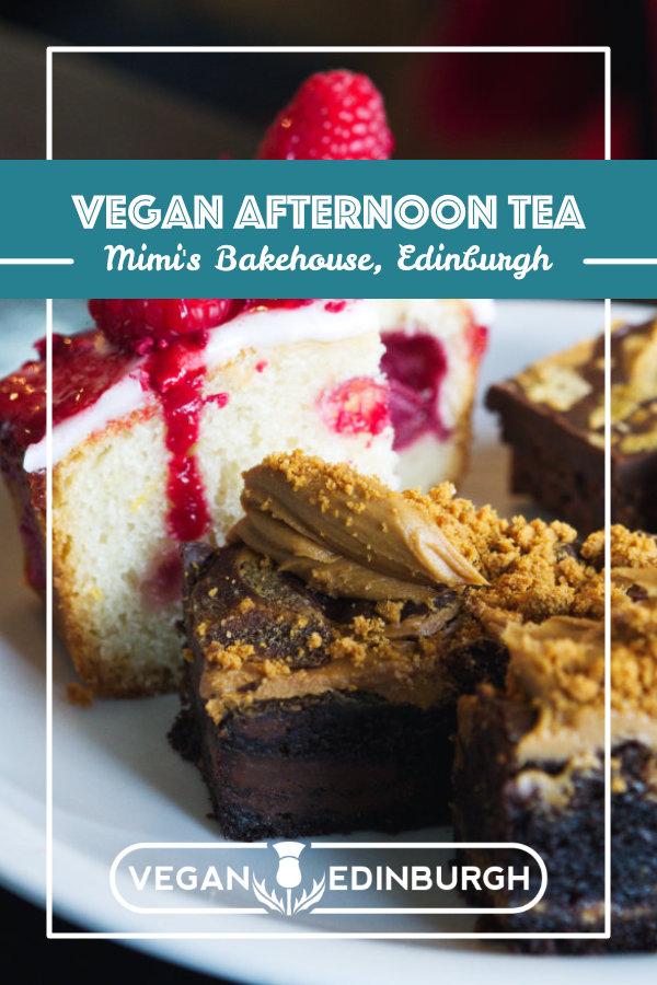 Vegan Afternoon Tea at Mimi's Bakehouse