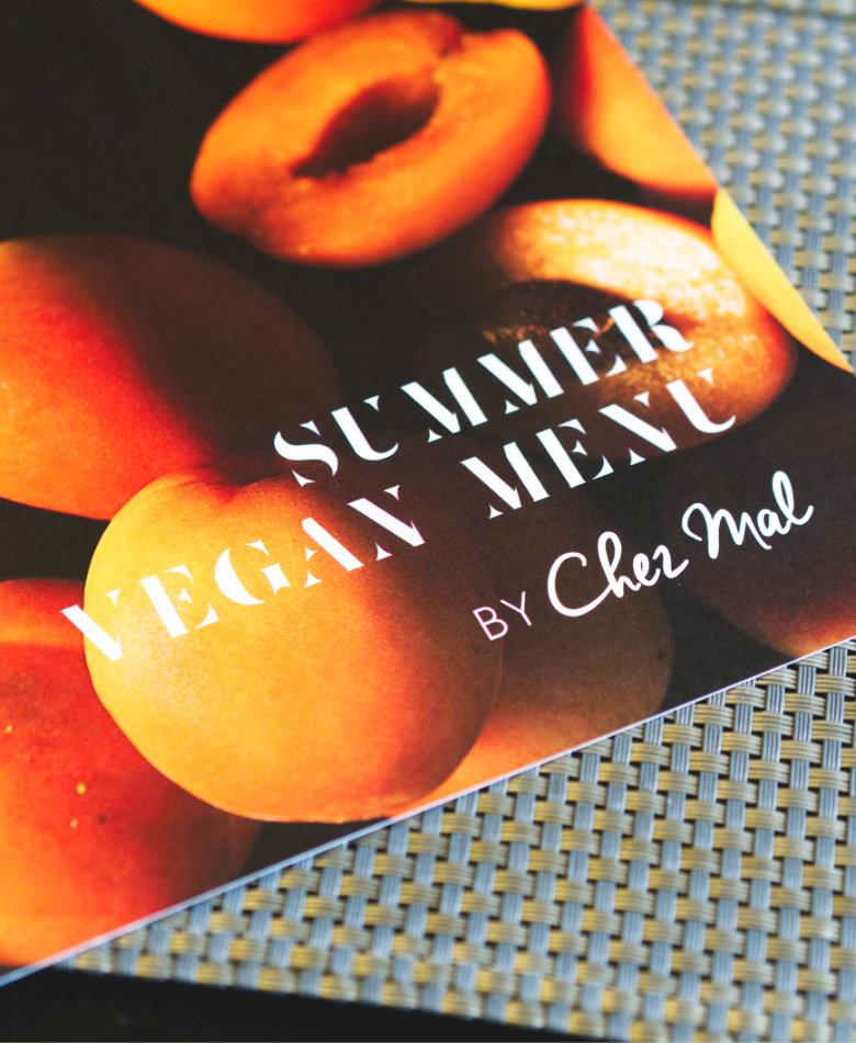Vegan summer menu at Malmaison Edinburgh