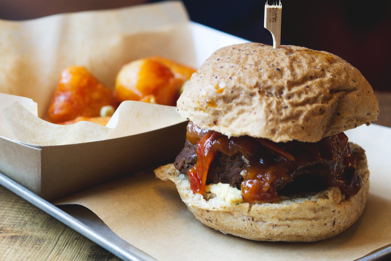 Vegan food at Brew Dog Edinburgh