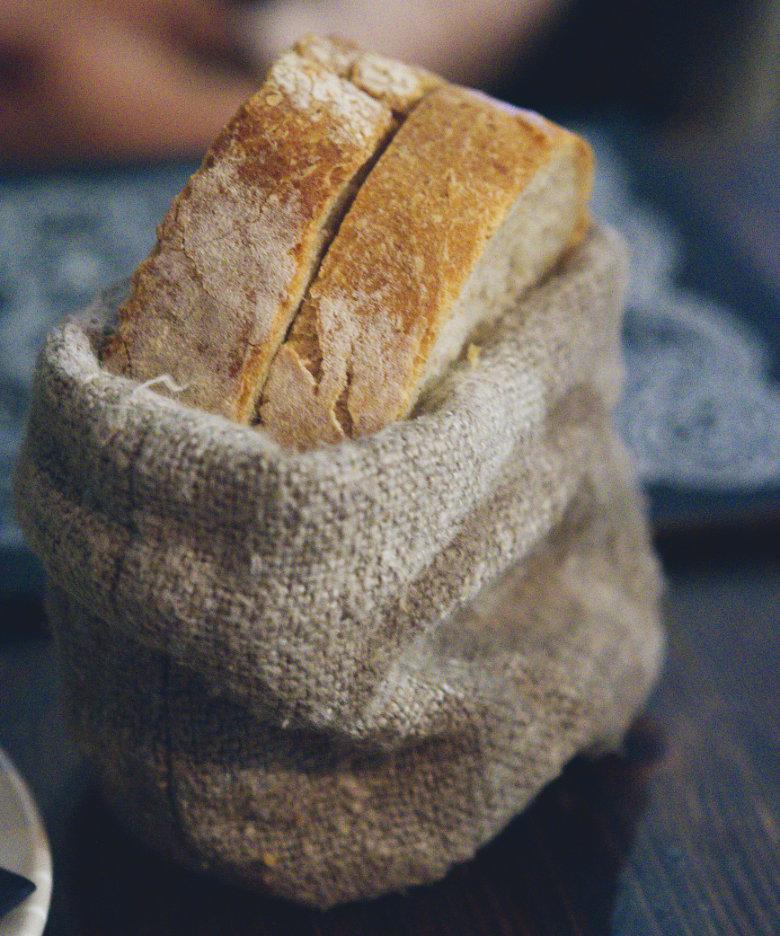 Vegan Bread at Scran and Scallie, Edinburgh