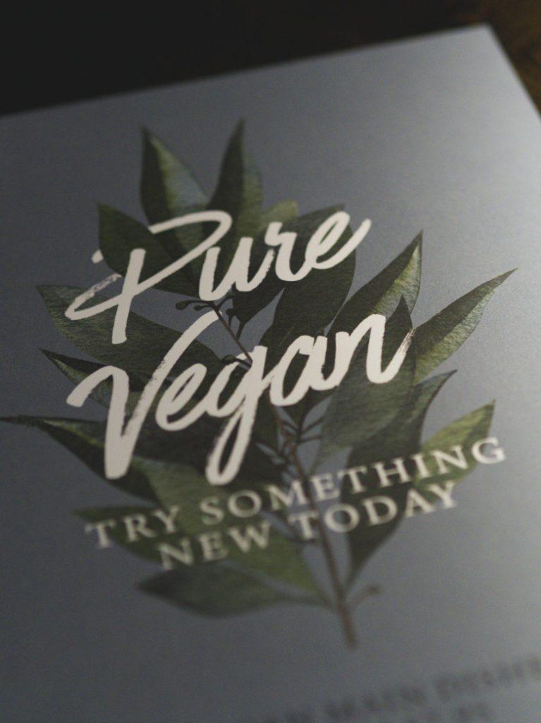 Vegan menu at the Sheep Heid Inn, Edinburgh