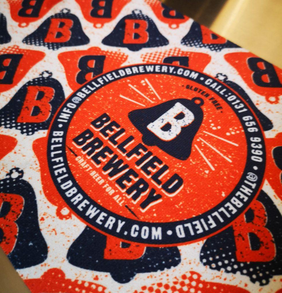 Bellfield Brewery Beermat