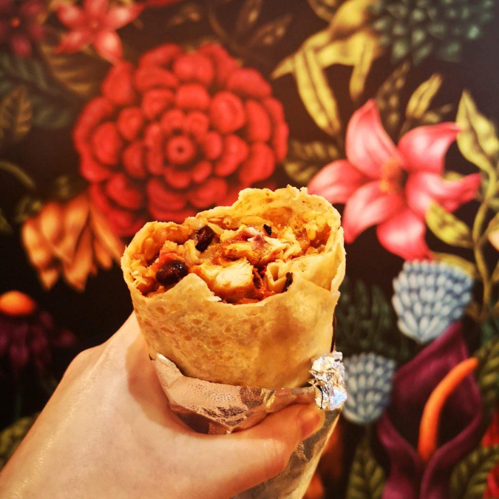 Eaten burrito at Barburrito Edinburgh