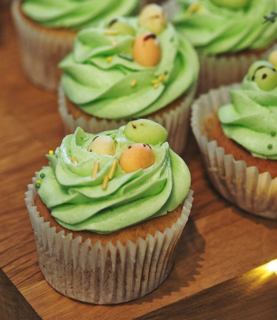 Vegan Easter cupcakes by Mamas Wee Bakery