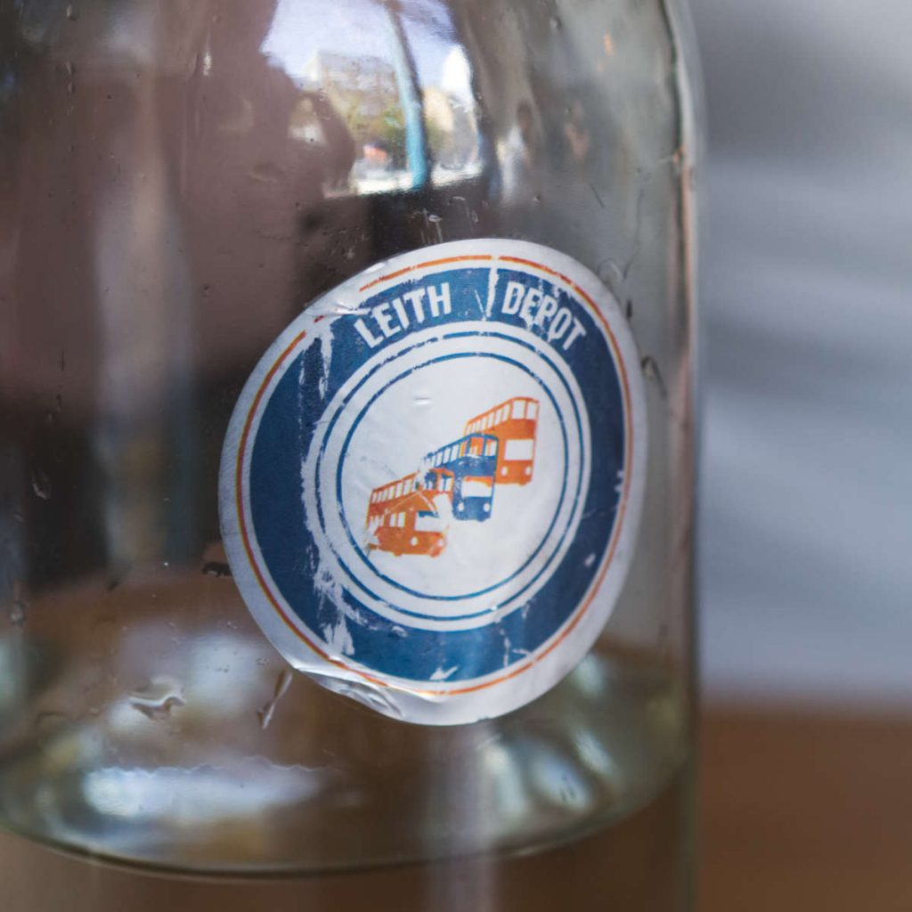 Leith Depot sticker
