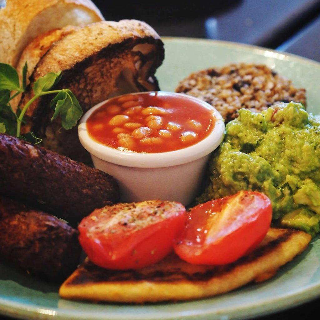Vegan Breakfast at Mimi's Bakehouse, Edinburgh