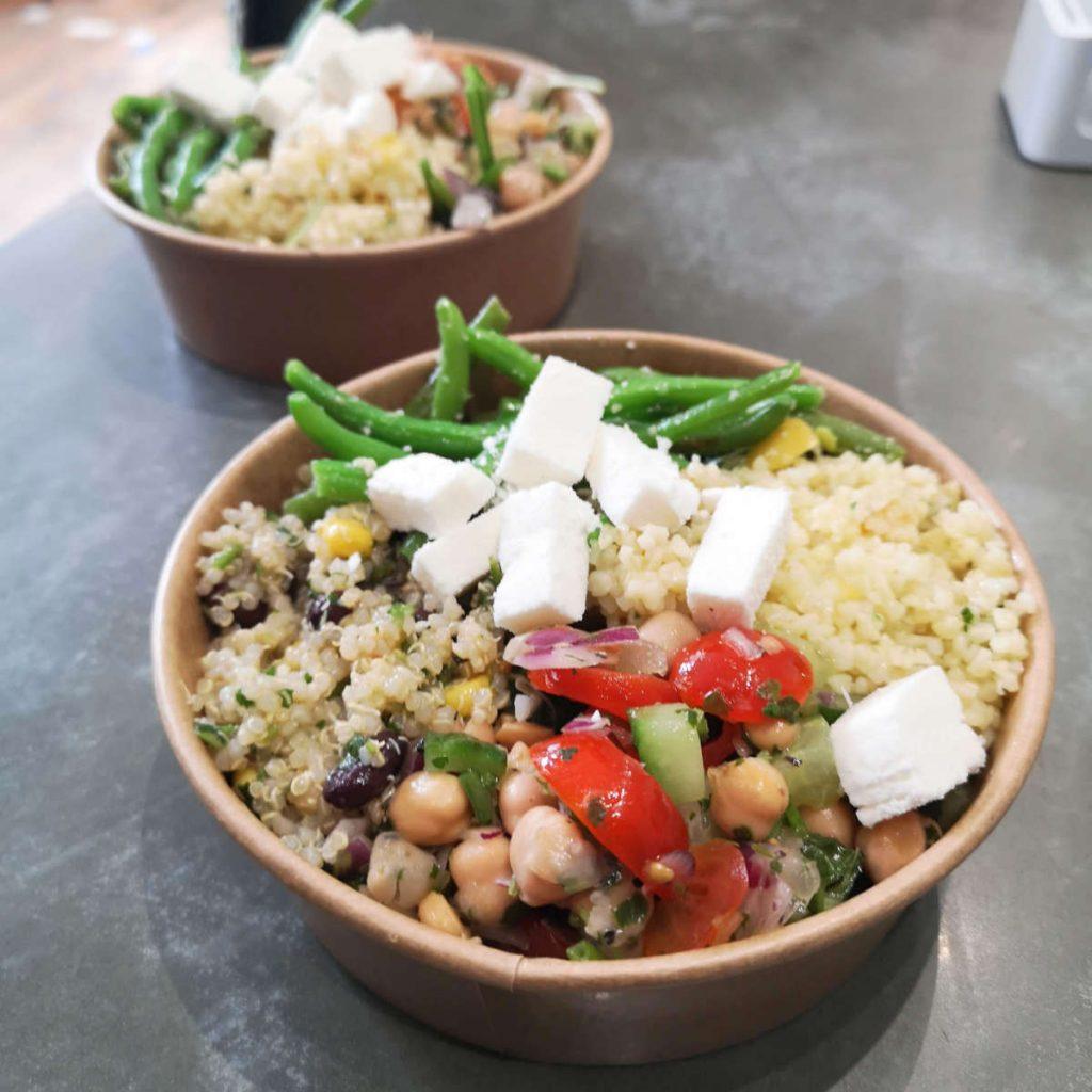 Vegan salad bowl from Bowls Edinburgh
