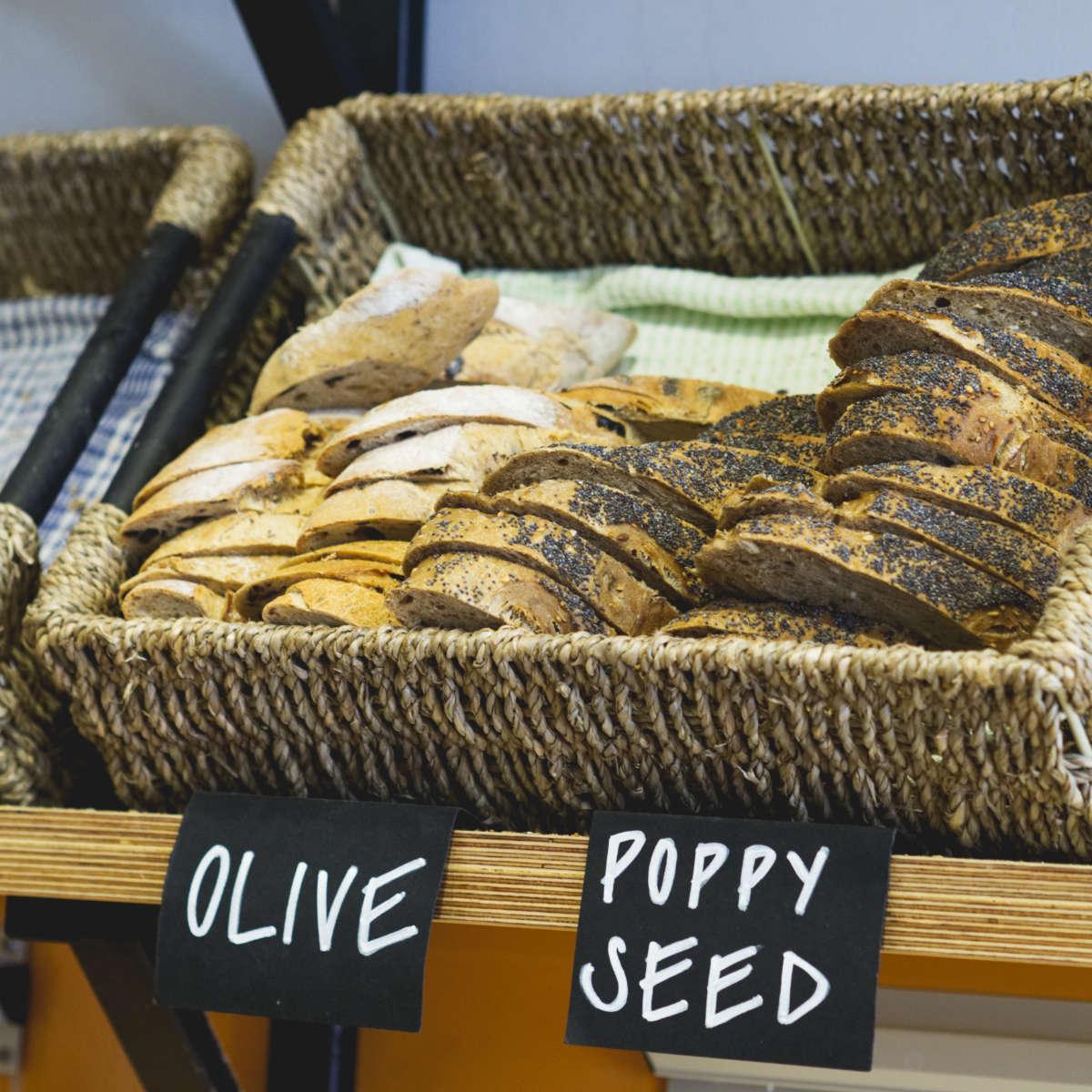 Vegan bread at Union of Genius, Edinburgh