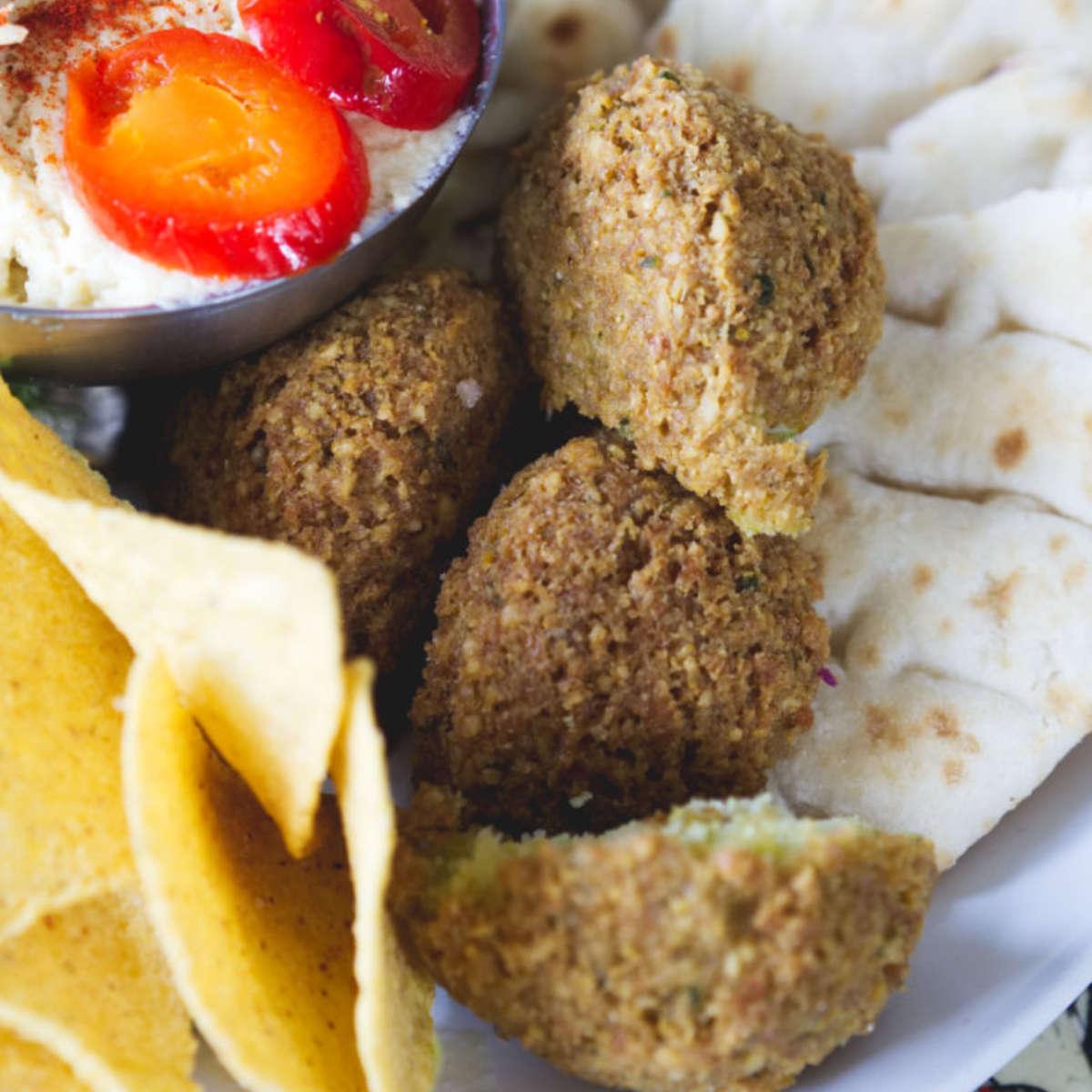 Falafel at The Forest Cafe, Edinburgh