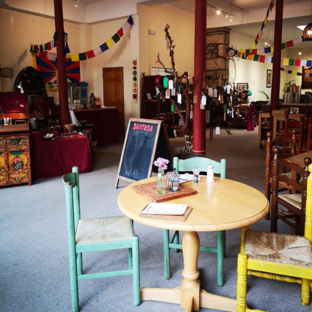 Inside Santosa cafe