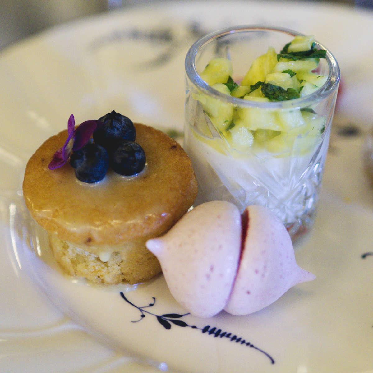 Vegan sweet treats at The Grand Cafe, Edinburgh