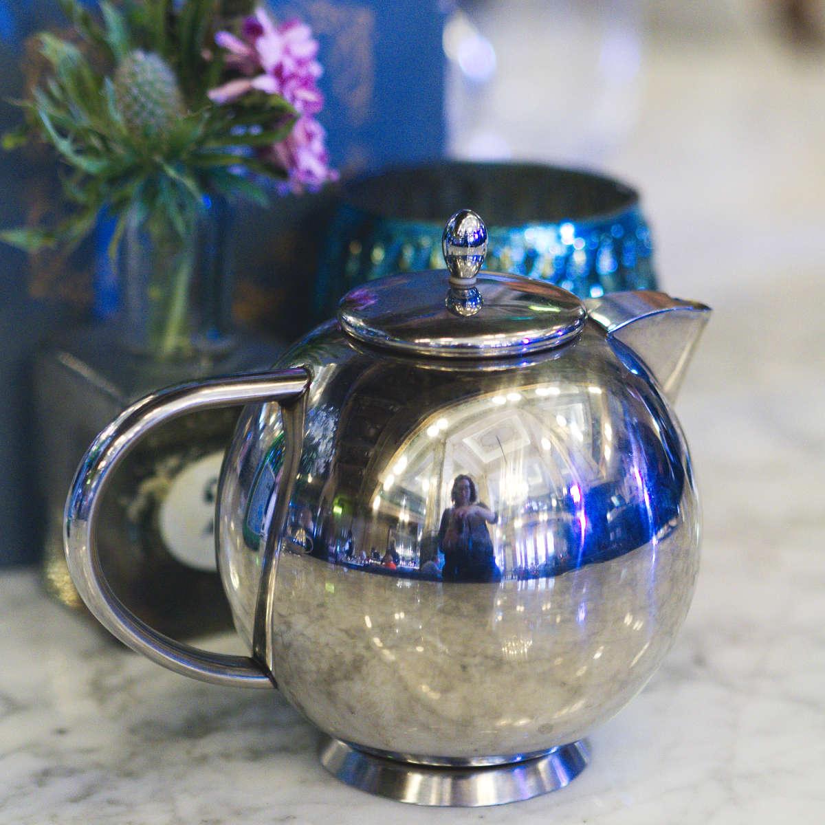 Teapot at The Grand Cafe, Edinburgh