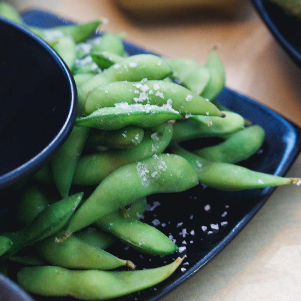 Vegan edamame beans