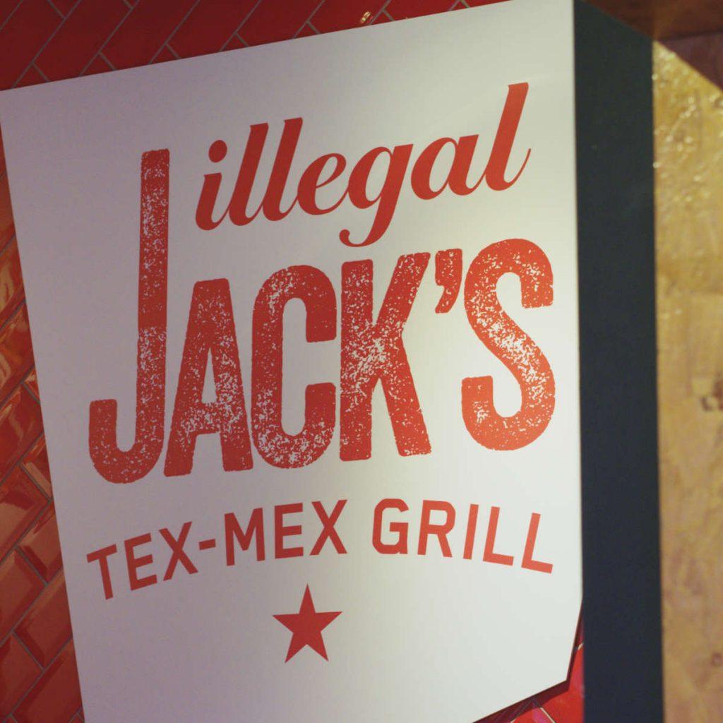 Illegal Jacks Sign