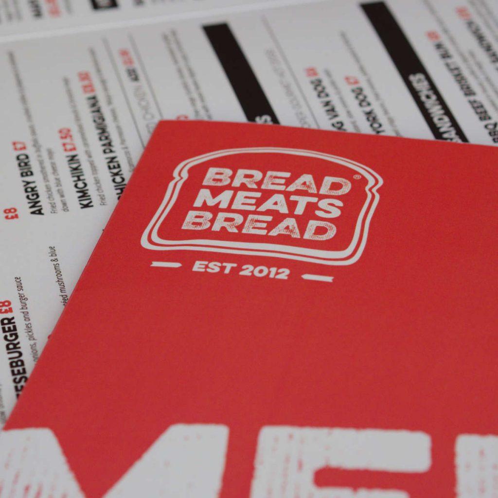 Menu at Bread Meats Bread, Edinburgh