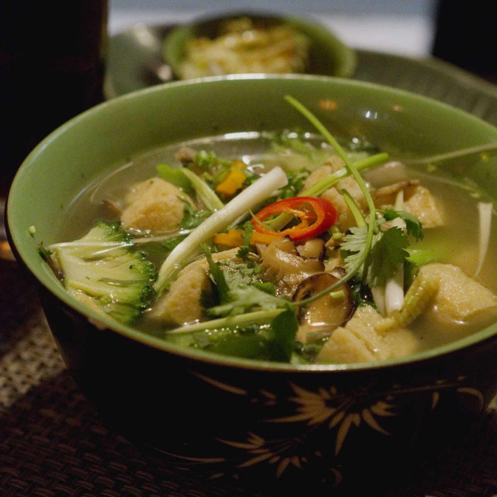 Vegan noodles at Vietnam House, Edinburgh