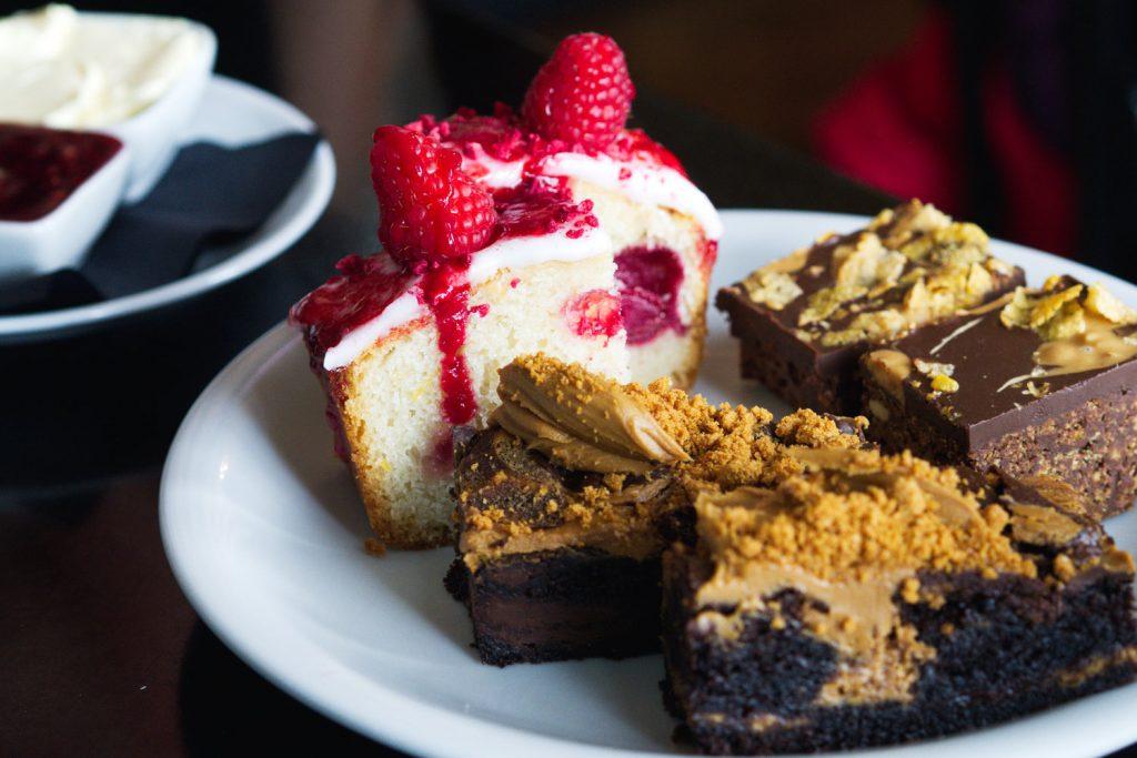 Vegan afternoon tea at Mimi's Bakehouse, Edinburgh