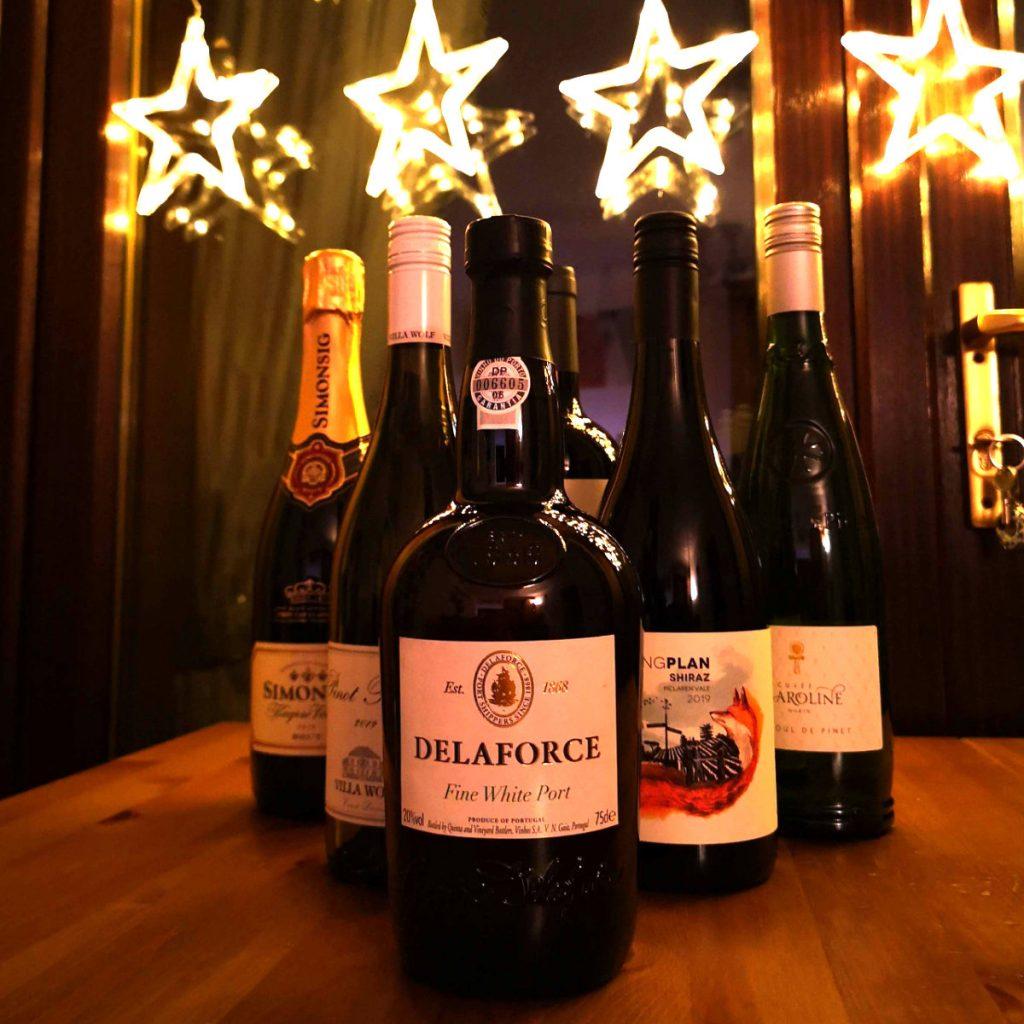 Vegan Tipples Christmas wine box