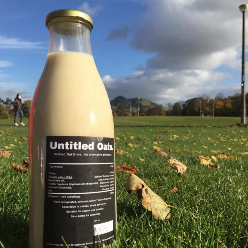 Bottle of Untitled Oats at the Meadows, Edinburgh