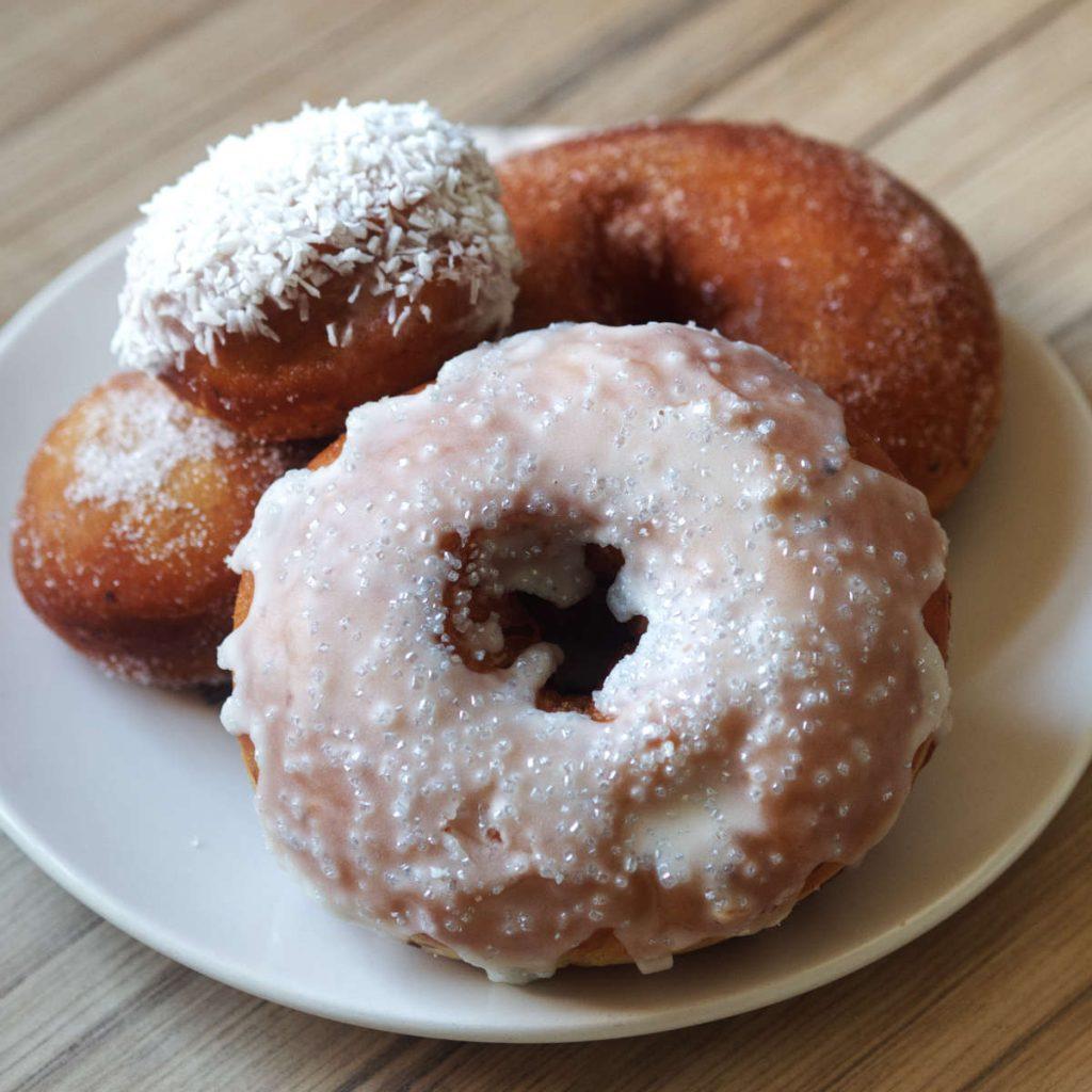 Vegan Donuts by the Kilted Donut Edinburgh