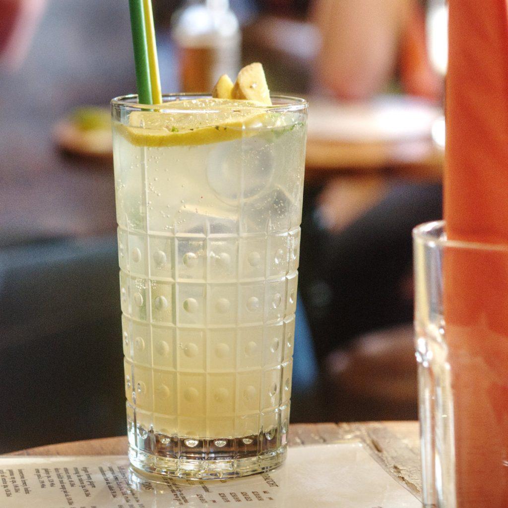 Cocktail at The Safari Lounge, Edinburgh